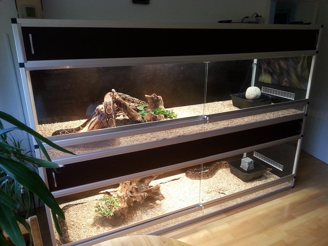 terrarium block f r schlangen mit schiebet rsystem auf rollen selber bauen marine system. Black Bedroom Furniture Sets. Home Design Ideas