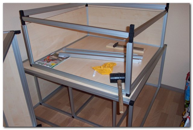 paludarium aus aluminium selber bauen. Black Bedroom Furniture Sets. Home Design Ideas