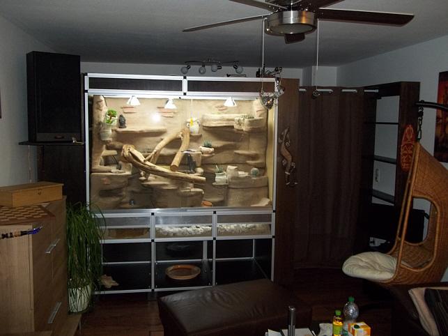 netzphyton terrarium aus aluminiumprofilen und steckverbindern selber bauen marine system. Black Bedroom Furniture Sets. Home Design Ideas
