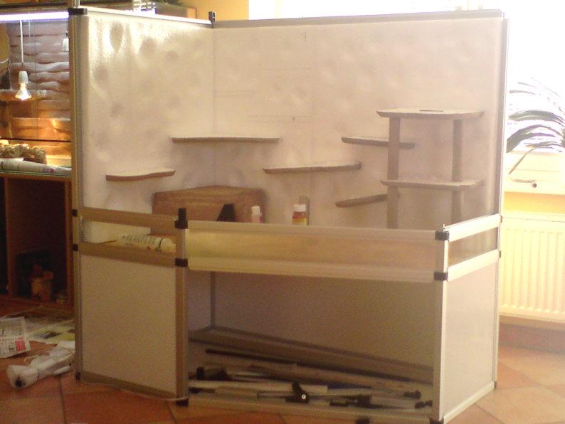 terrarium aus aluminium und siebdruckplatten delta selber bauen marine system. Black Bedroom Furniture Sets. Home Design Ideas