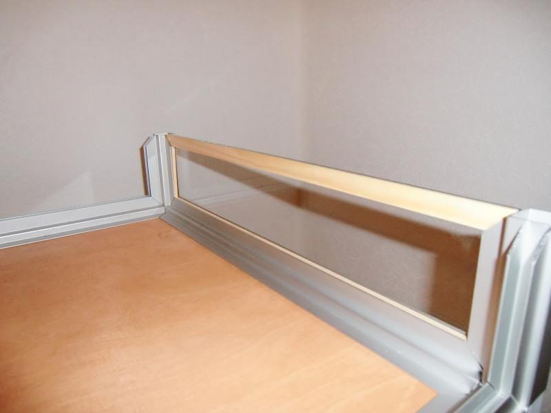 hamsterburg aus aluminiumprofilen und steckverbindern. Black Bedroom Furniture Sets. Home Design Ideas