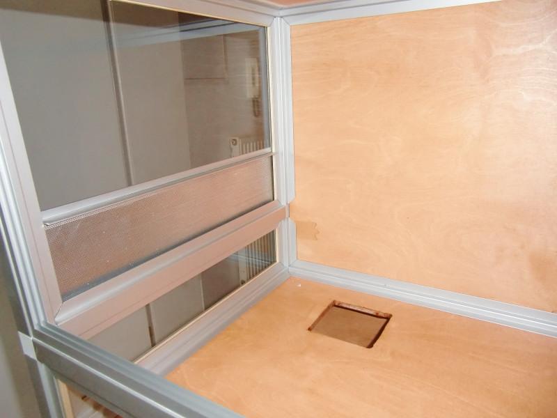 hamsterburg aus aluminiumprofilen und steckverbindern selber bauen marine system. Black Bedroom Furniture Sets. Home Design Ideas